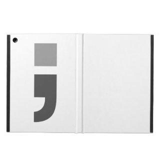 The versatile semicolon iPad air cover