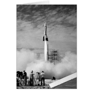 The Very First Rocket Launch At Cape Canaveral Card