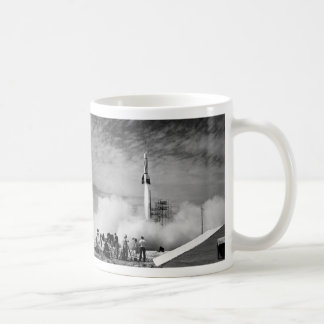 The Very First Rocket Launch At Cape Canaveral Coffee Mug