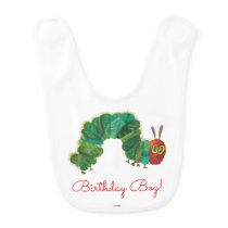 The Very Hungry Caterpillar Birthday Baby Bib