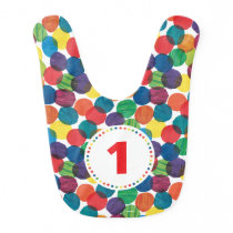 The Very Hungry Caterpillar Birthday Bib