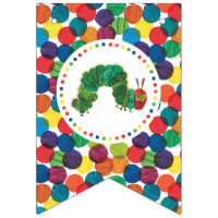 The Very Hungry Caterpillar Birthday Bunting Flags