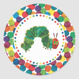 The Very Hungry Caterpillar Birthday Classic Round Sticker