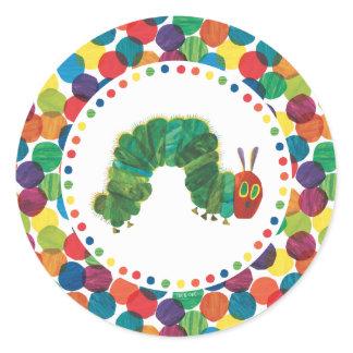 The Very Hungry Caterpillar Birthday Classic Round Sticker