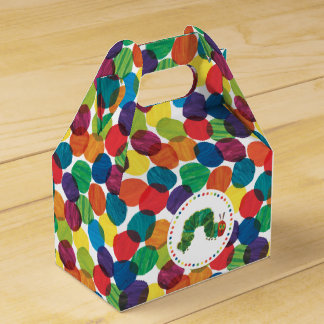 The Very Hungry Caterpillar Birthday Favor Box
