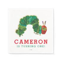 The Very Hungry Caterpillar Birthday Paper Napkin
