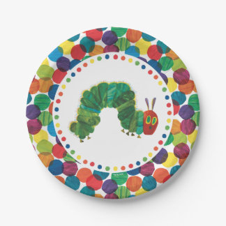 The Very Hungry Caterpillar Birthday Paper Plate