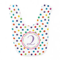 The Very Hungry Caterpillar Butterfly Birthday Bib