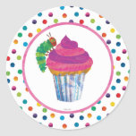 The Very Hungry Caterpillar Butterfly Birthday Classic Round Sticker