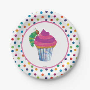 The Very Hungry Caterpillar Butterfly Birthday Paper Plate  sc 1 st  Zazzle & Caterpillar Plates | Zazzle