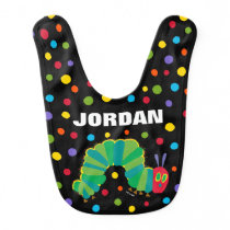 The Very Hungry Caterpillar Chalkboard Birthday Bib