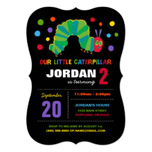 Very Hungry Caterpillar Invitations Zazzle