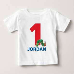 The Very Hungry Caterpillar First Birthday Baby T Shirt