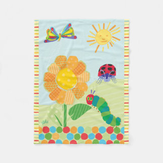 The Very Hungry Caterpillar, Good Morning Sunshine Fleece Blanket