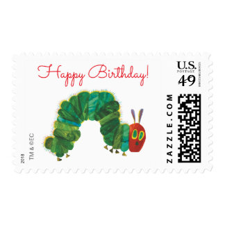 The Very Hungry Caterpillar Happy Birthday Postage