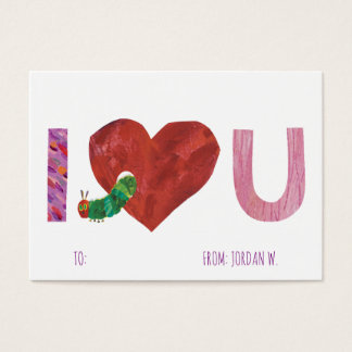 The Very Hungry Caterpillar | I Heart You Business Card