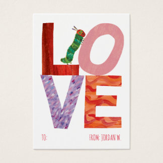 The Very Hungry Caterpillar | LOVE Business Card