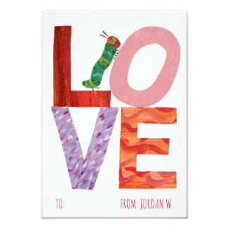 The Very Hungry Caterpillar | LOVE Card