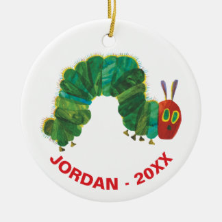 The Very Hungry Caterpillar | Name & Year Ceramic Ornament