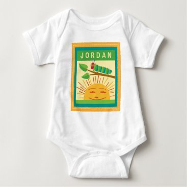 worldofericcarle The Very Hungry Caterpillar | Warm Sunny Days Baby Bodysuit