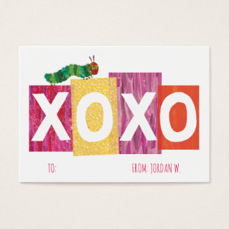 The Very Hungry Caterpillar | XOXO Business Card