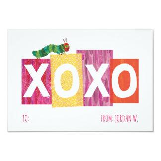 The Very Hungry Caterpillar | XOXO Card