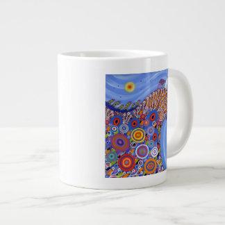The Very Precarious Sheep 2014 Large Coffee Mug