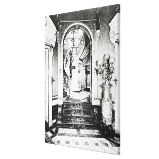 The Vestibule and Onyx Staircase Canvas Prints