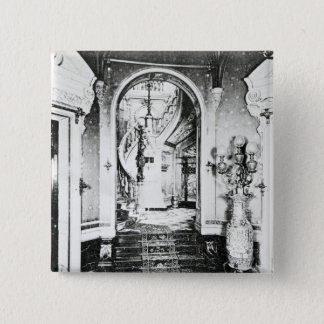 The Vestibule and Onyx Staircase Pinback Button