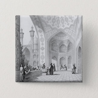 The Vestibule of the Main Entrance of the Medrese- Pinback Button