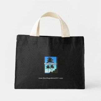 The VI Tiny Tote Canvas Bags