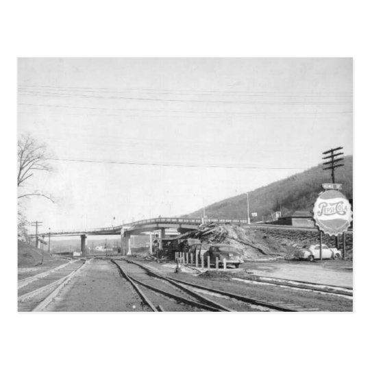 The Viaduct--Norton, Virginia. Postcard