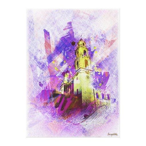 the Vibrant MissionDolores of SanFrancisco Canvas Prints