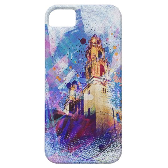 the Vibrant MissionDolores of SanFrancisco Display iPhone SE/5/5s Case