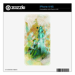 the Vibrant MissionDolores of SanFrancisco Skins For The iPhone 4