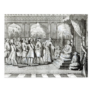 The Viceroy of Canton giving an audience Postcard
