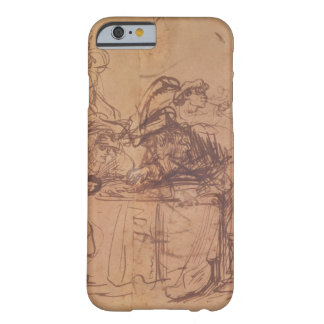 The Vices of the Prodigal Son (pen and ink on pape Barely There iPhone 6 Case
