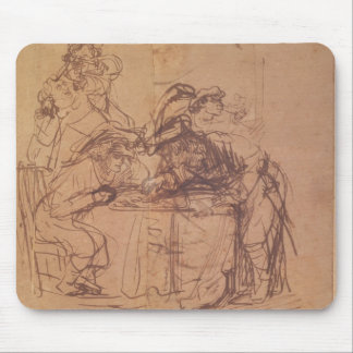 The Vices of the Prodigal Son (pen and ink on pape Mouse Pad