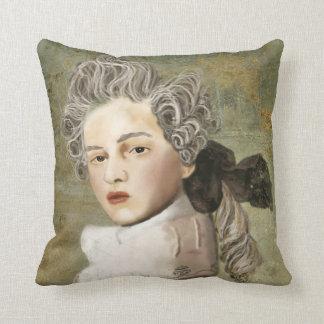 The Vicomte Throw Pillow