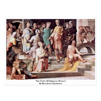 The Victim Of Seleucus Of Locri Postcard