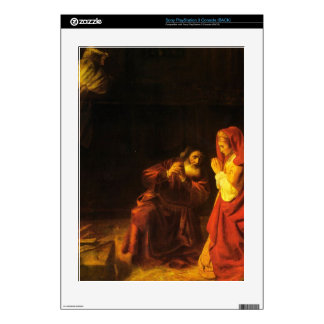 The victims of Manoah by Rembrandt PS3 Skin