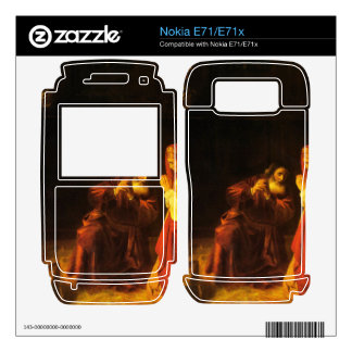 The victims of Manoah by Rembrandt Decal For Nokia E71