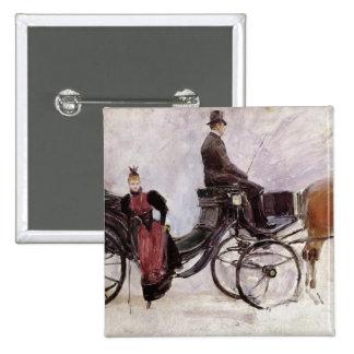 The Victoria, c.1895 Pinback Button