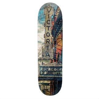The Victoria From UrineTown MissionDistrict sfc sa Skateboard