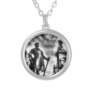 The Victoria Memorial London Silver Plated Necklace