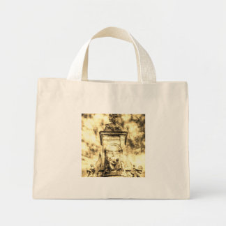 The Victoria Memorial London Vintage Mini Tote Bag