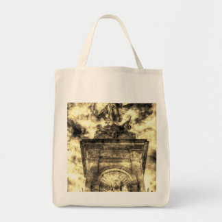 The Victoria Memorial London Vintage Tote Bag