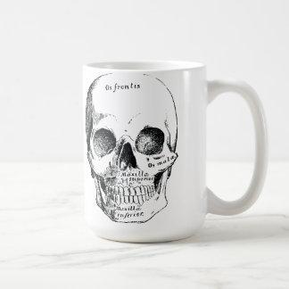 The Victorian Gentlemens Skull Coffee Cup