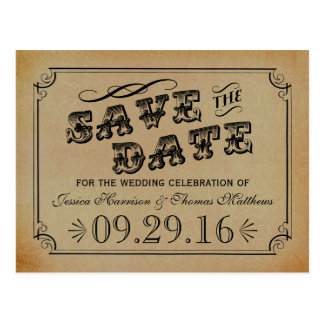 The Victorian Steampunk Wedding Collection Postcard