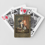 The Victorian Tailor Mouse Bicycle Poker Cards